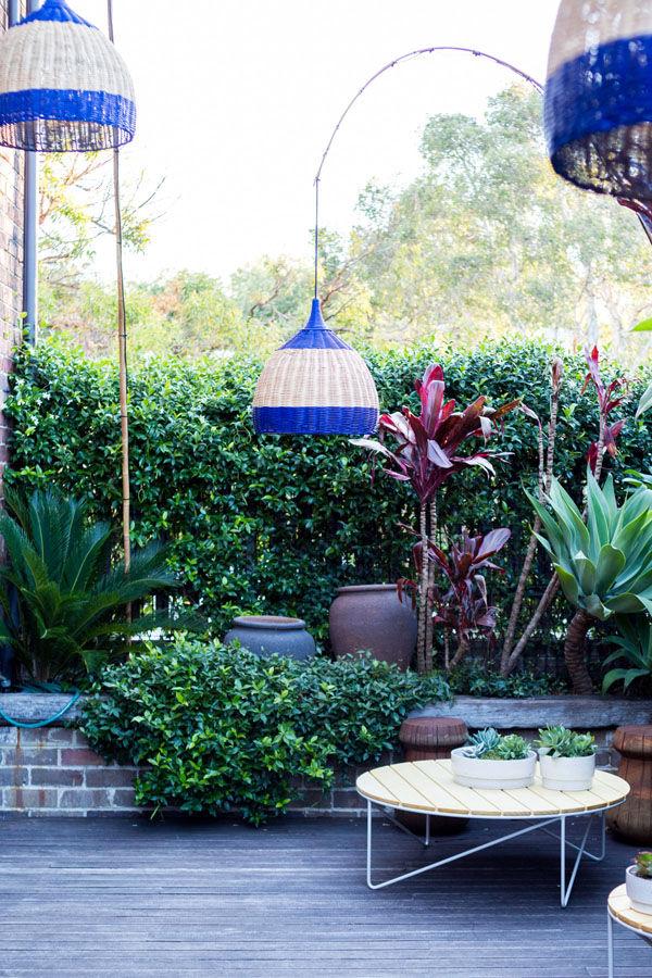 Outdoor furniture roof deck terrace Design Files Australia design
