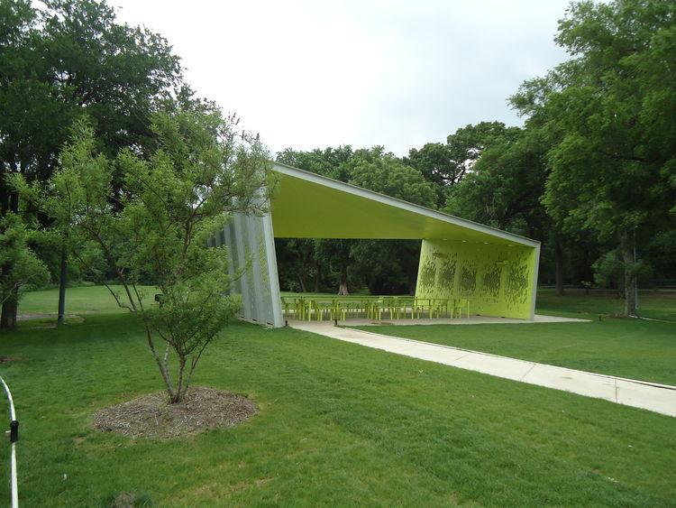 A modern park pavilion in Dallas, Snohetta, Architexas