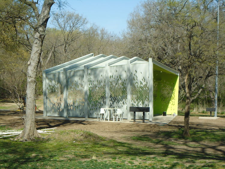 A modern park pavilion in Dallas, Snohetta, Architexas