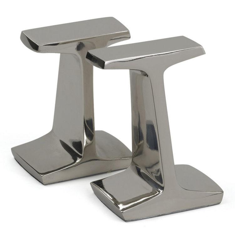 Albin bookends steel shelving Ralph Lauren Home gift guide