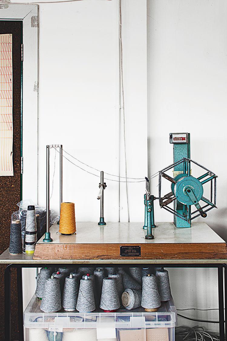 contemporary textile designer Eleanor Pritchard