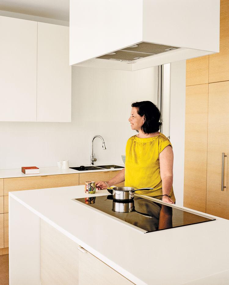 modern multiunit prefab in Vancouver interior kitchen