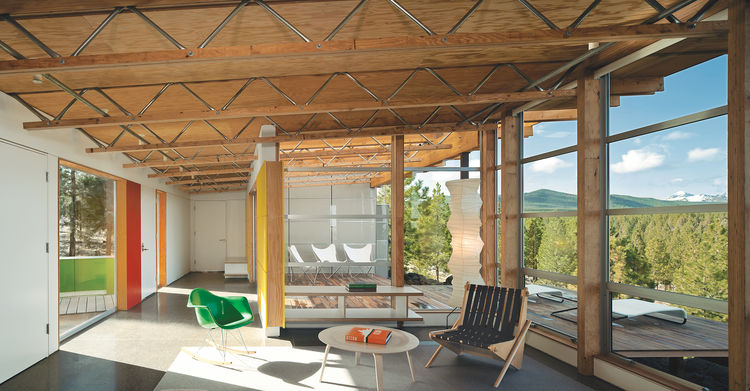 economical modular prefab in bend oregon patio