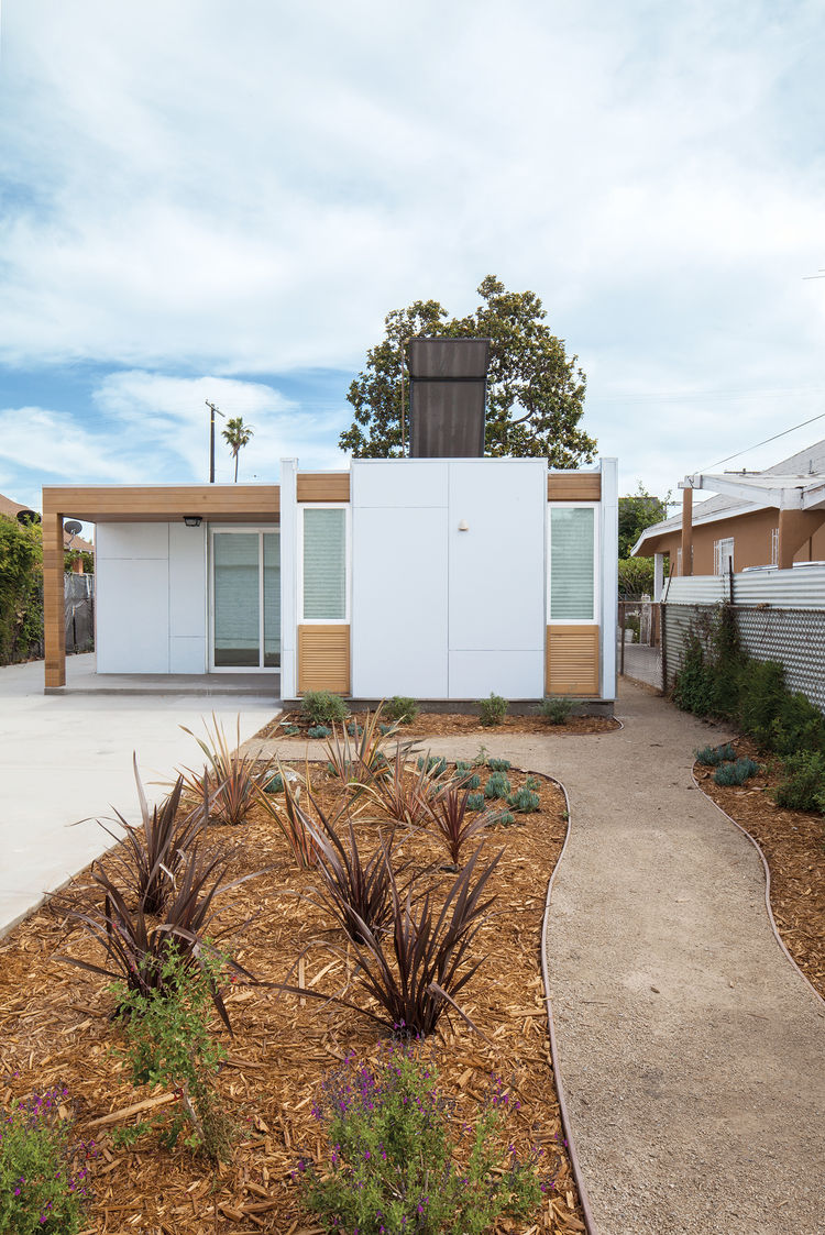 net-zero prefab in los angeles