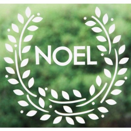 Noel Wreath Decal