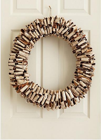 Birchwood Wreath from Anthropologie