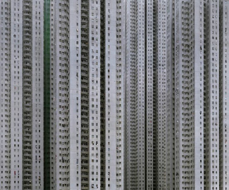 Michael Wolf, Architecture of Density