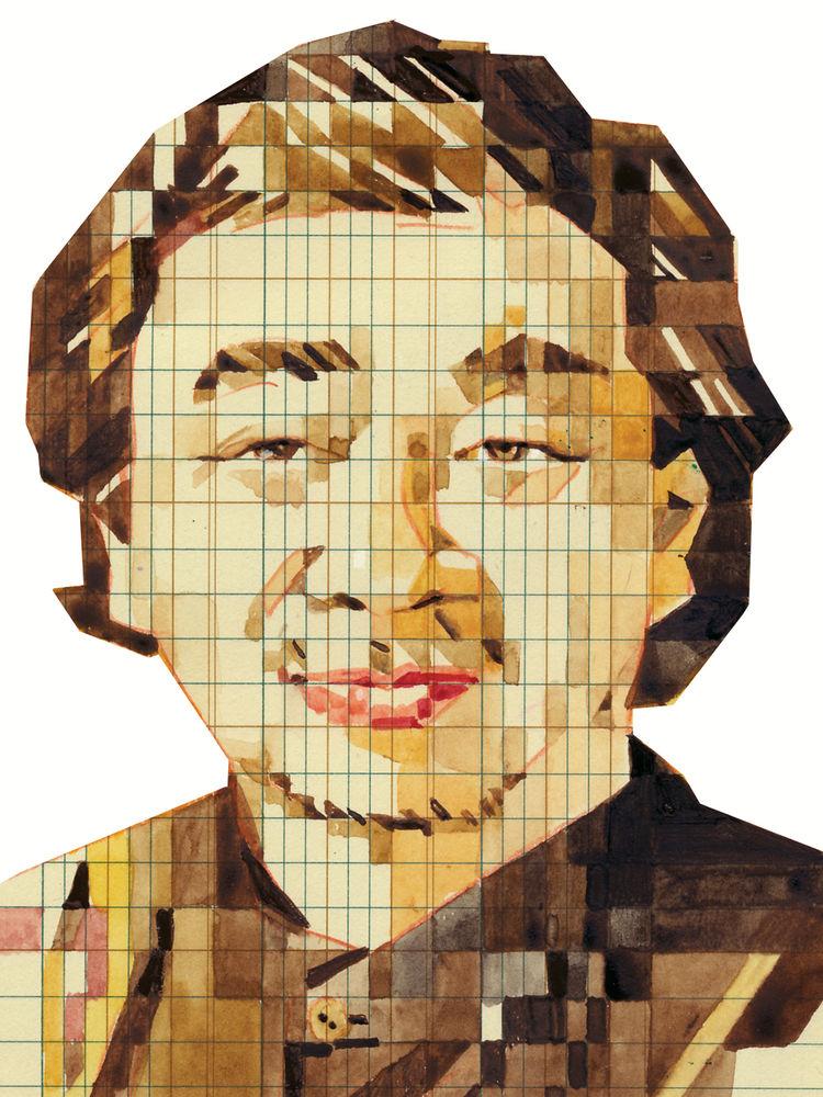 portrait Japanese architect Shigeru Ban