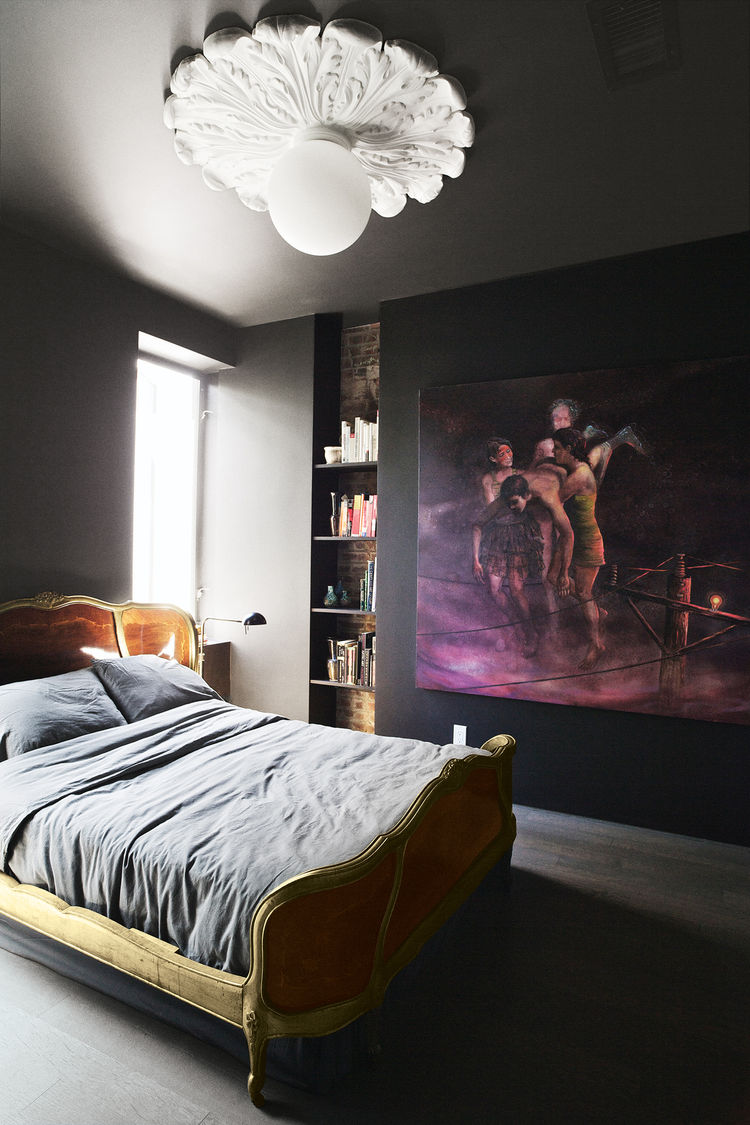 Brooklyn renovation interior bedroom