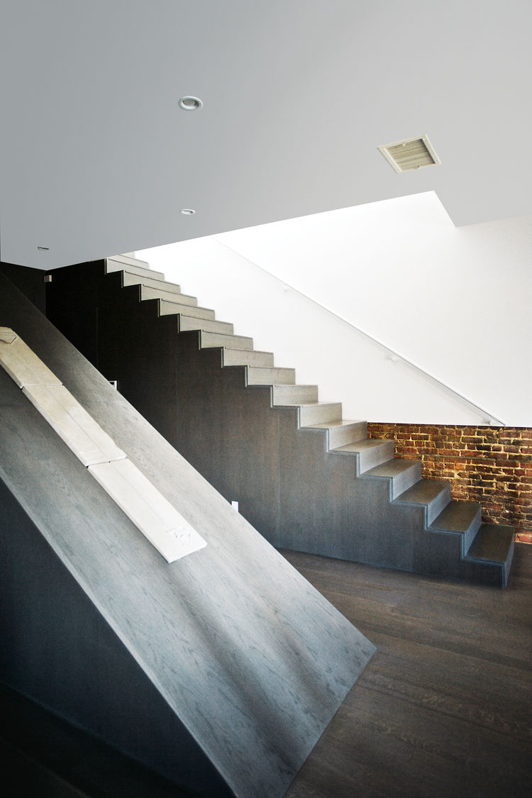 Brooklyn renovation interior staircase