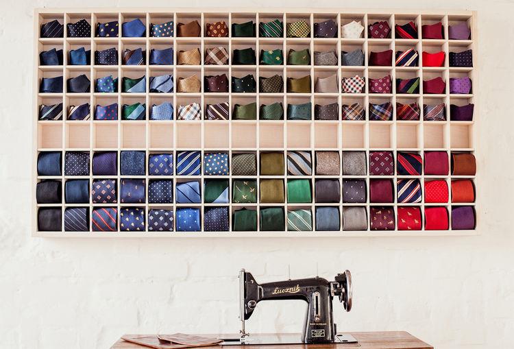 Poszetka tailor workshop in Katowice, Poland