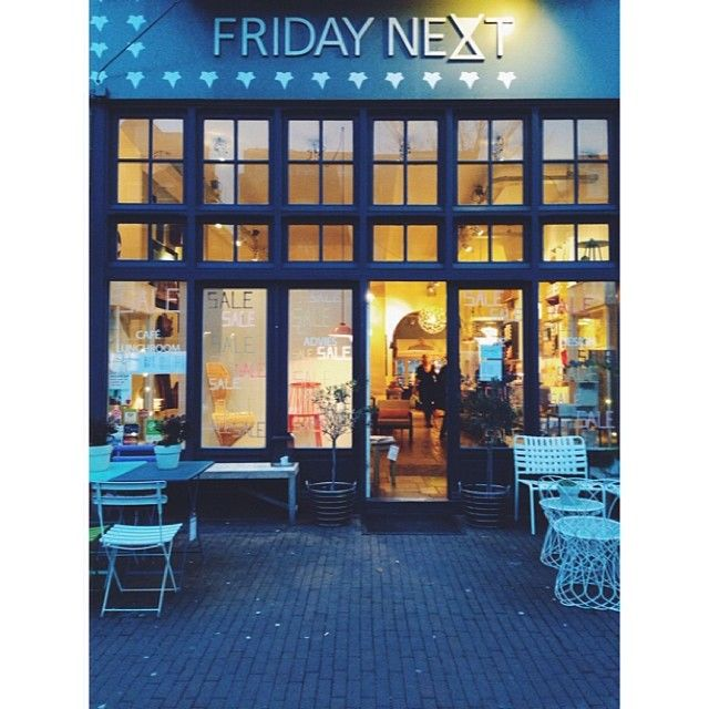 Next Friday shop exterior Amsterdam