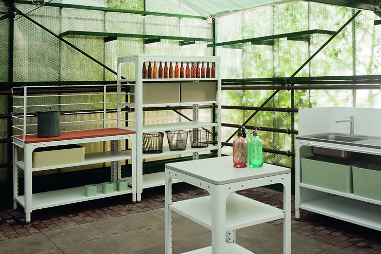Naber Kilian Schindler kitchen design modular garden coatrack