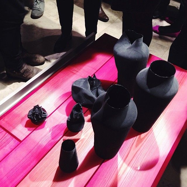 resin table series at Maison&Objet 2014