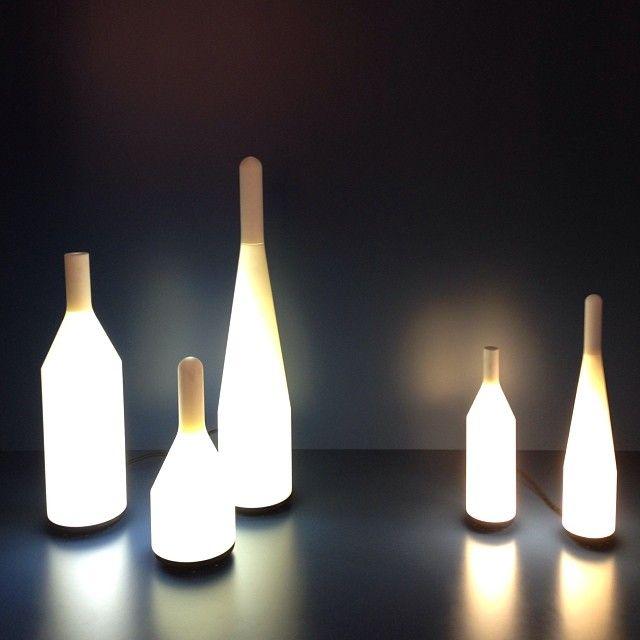 Voltair table lamps at Maison&Objet 2014