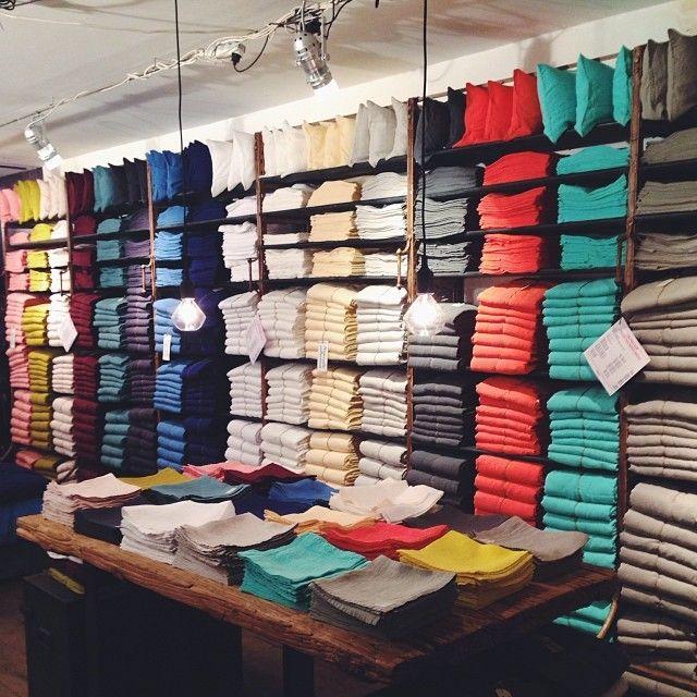 Merci Shop Paris linen sheets
