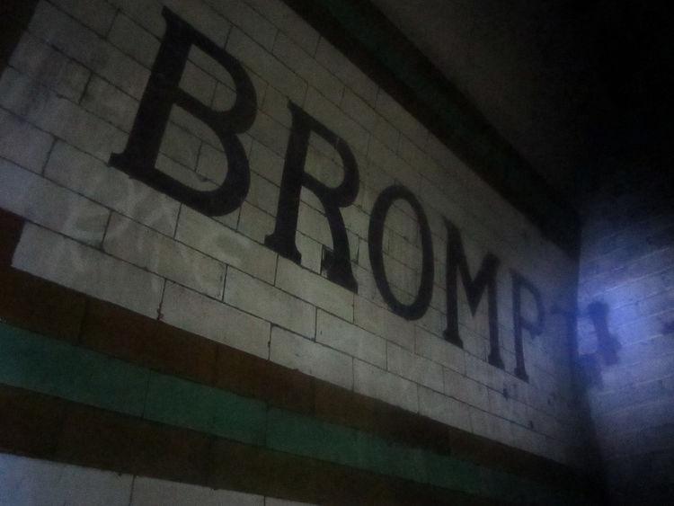 brompton station