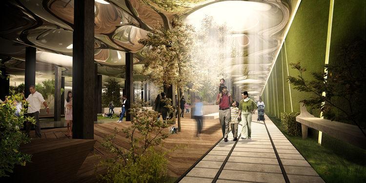 the new underground subway stations reimagined