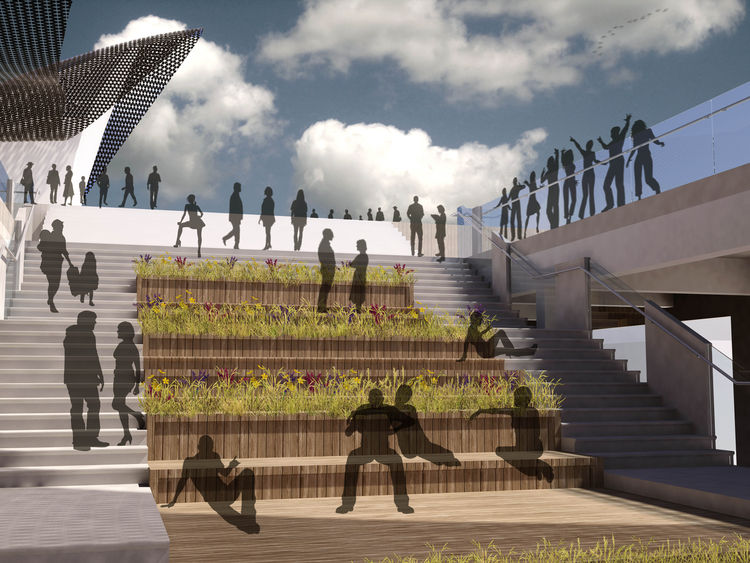 QueensWay Plaza competition