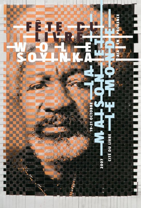 Philippe Apeloig Wole Soyinka: La maison et le monde