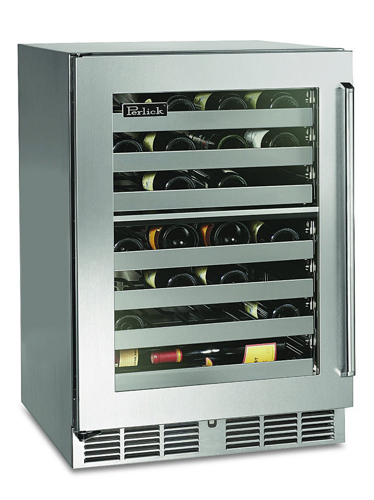 wine, cooler, stainless