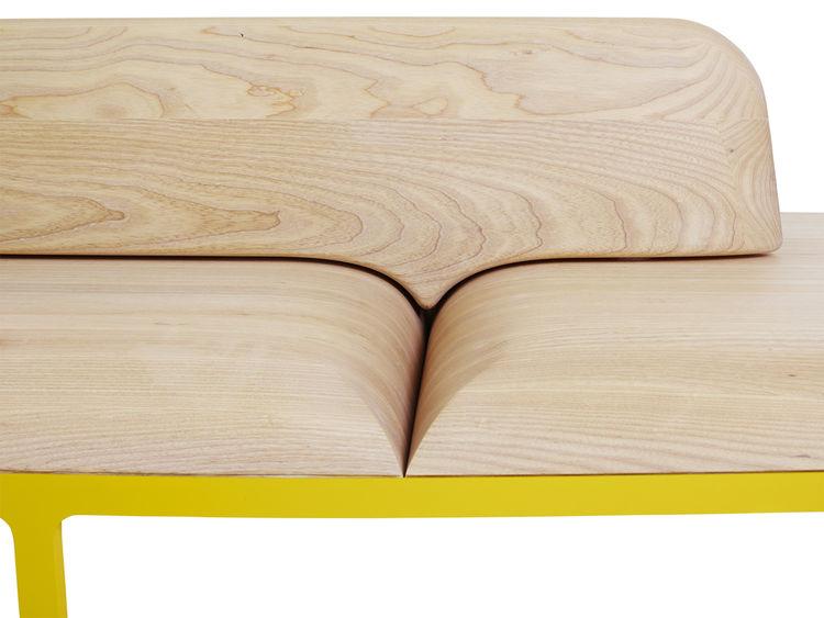 Plymå bench by Mattias Stenberg for Nola Stockholm Furniture Fair