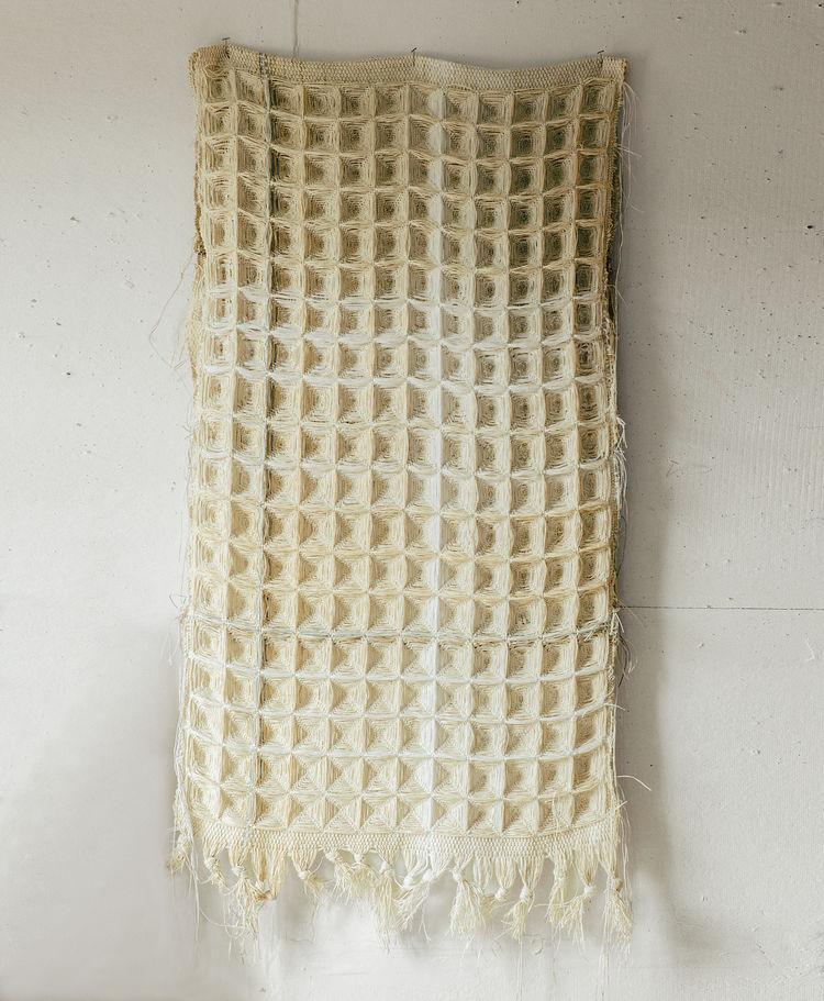 designer spotlight Hiroko Takeda hanging textile