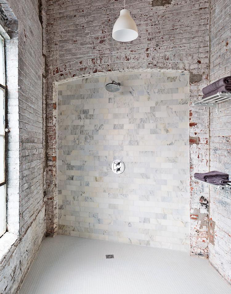 Phillips 19th-century factory interior bathroom