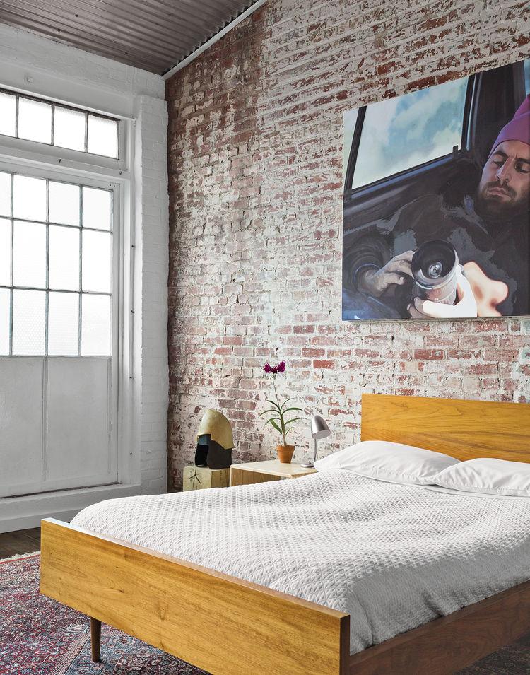 Phillips 19th-century factory interior bedroom