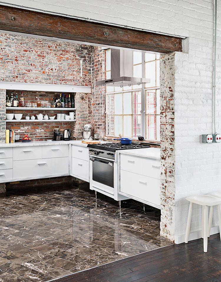 Phillips 19th-century factory interior kitchen