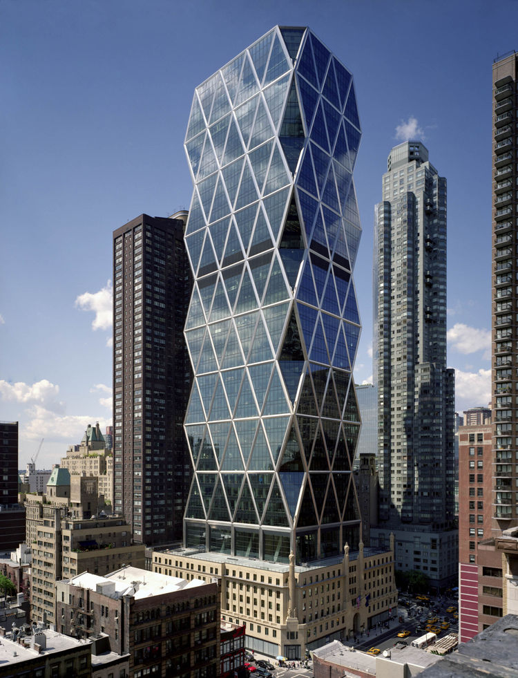 Hearst Tower by Foster + Partners