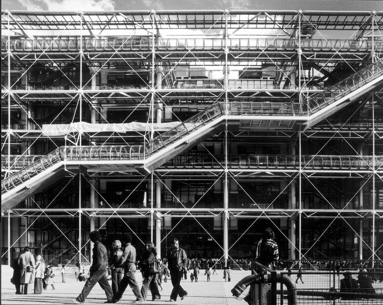 Pompidou Center, 1977