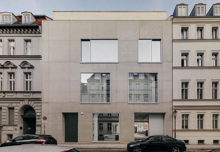 David Chipperfield concrete house Berlin