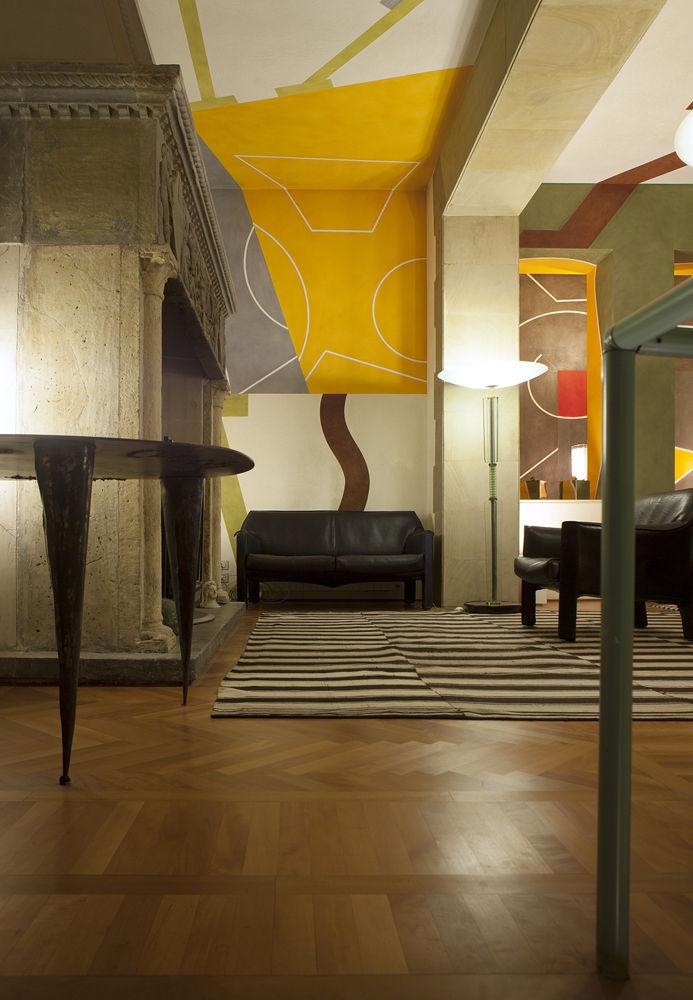 Mario Bellini apartment Milan designers at home