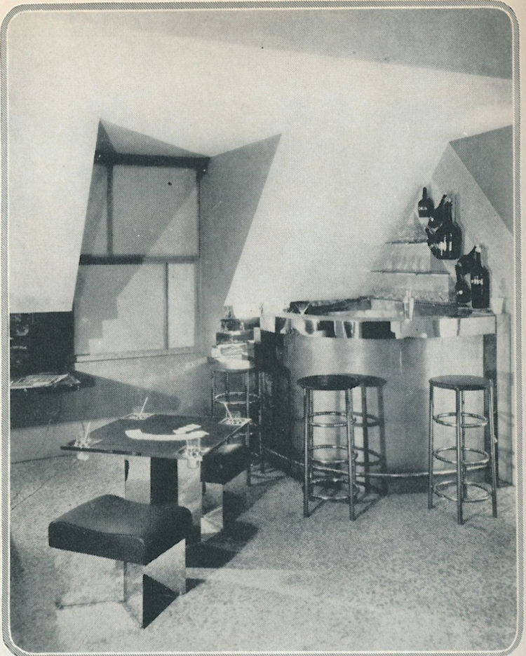 Equipment d'Habitation at the Salon d'Automne
