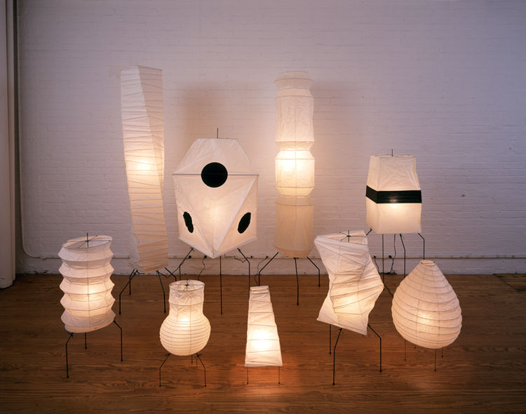 Isamu Noguchi Akari Light Sculptures (1951)