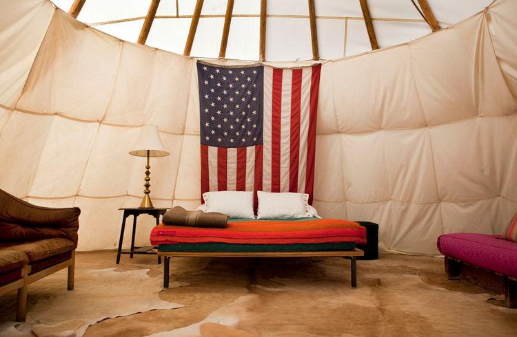 flag, America, patriotism, bedroom, tent