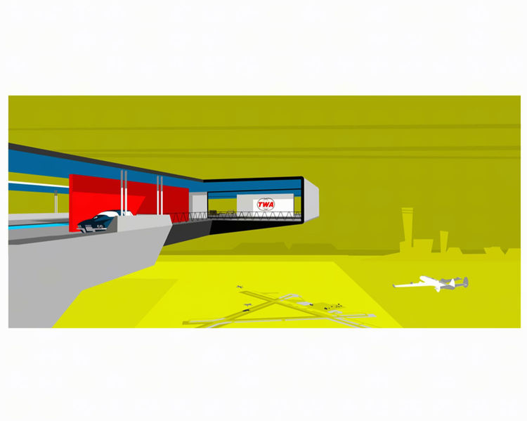 retro supersonic modern artwork by michael murphy