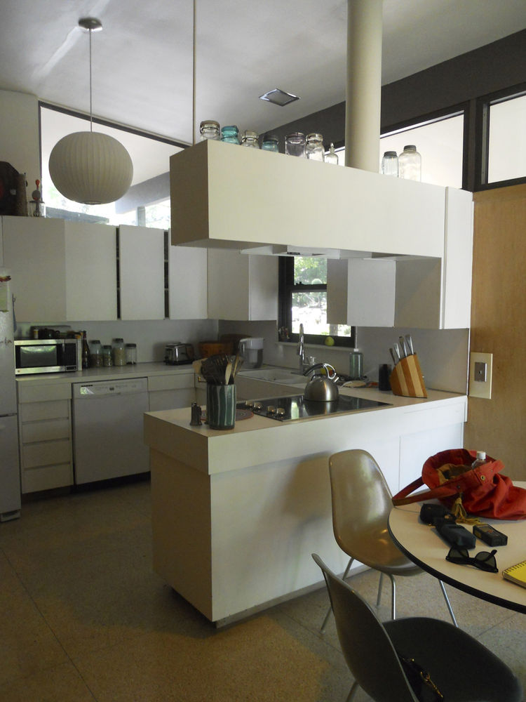 a shot of the kitchen prior to renovation