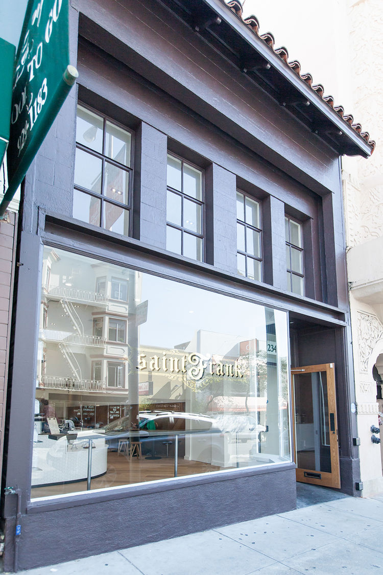 modern cafe saint frank coffee in san francisco