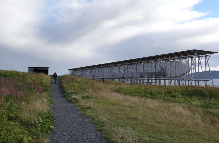 3. Steilneset Memorial to Victims of Witch Trials (Vardø, Norway): Designed by Peter Zumthor