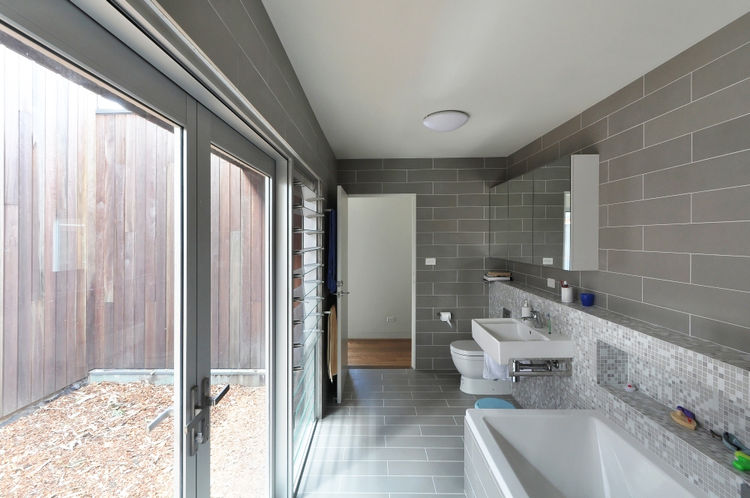 modern bathroom in australian house