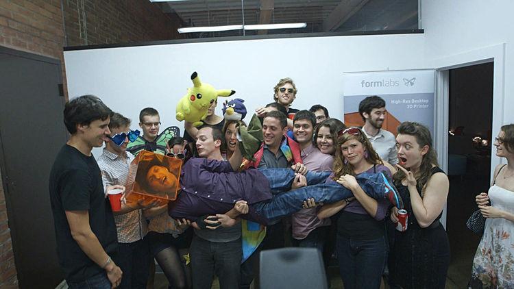 Print the Legend Formlabs Teams Celebrates