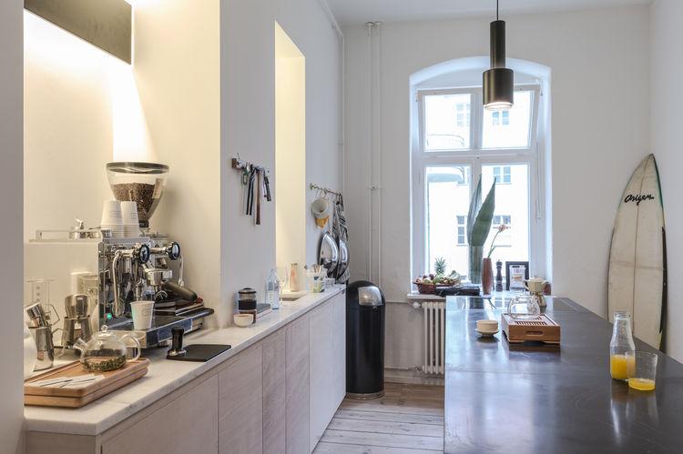 Kitchen of the Freunde von Freunden X Vitra Apartment