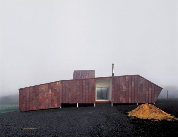 Smiljan Radic Copper House Exterior Modern