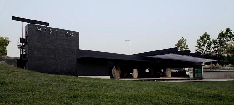 Smiljan Radic Mestizo Restaurant Concrete Granite