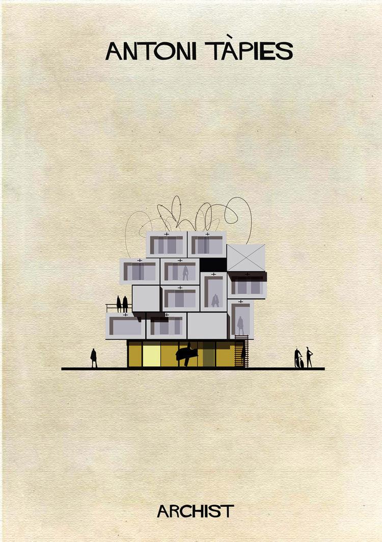Federico Babina Antoni Tapies Archist series art architecture