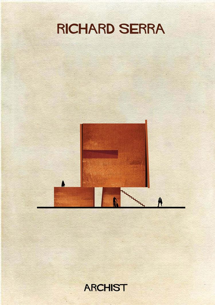 Federico Babina archist Richard Serra
