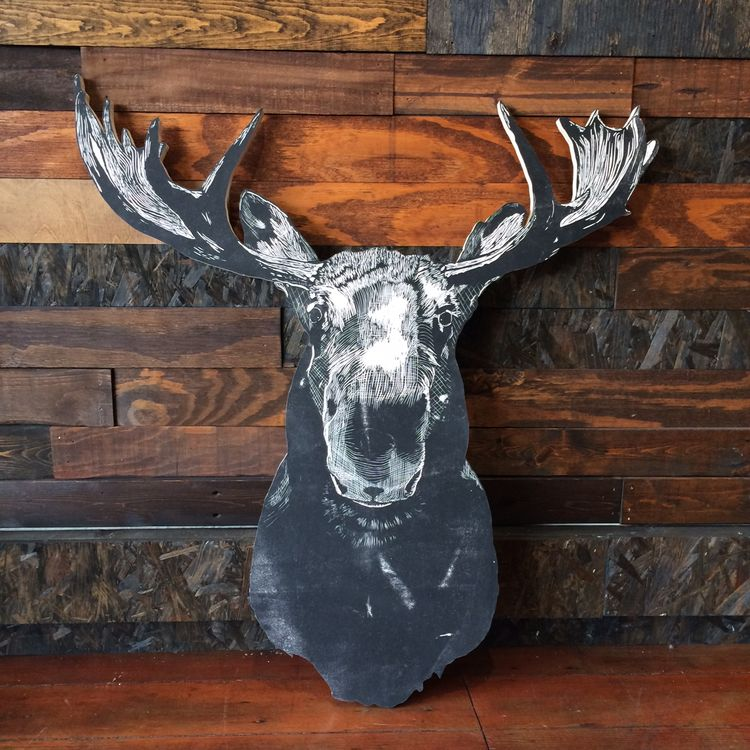 Moose Wall Plaque