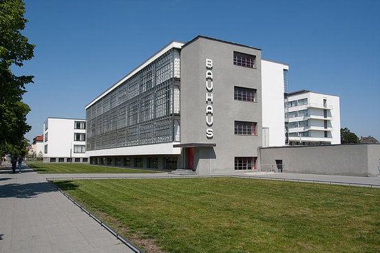 the Bauhaus building in Dassau